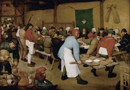 800px-Pieter_Bruegel_the_Elder_-_Peasant_Wedding_-_Google_Art_Project