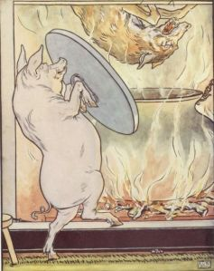 Three_little_pigs_-_the_wolf_lands_in_the_cooking_pot_-_Project_Gutenberg_eText_15661