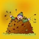 leaf-pile